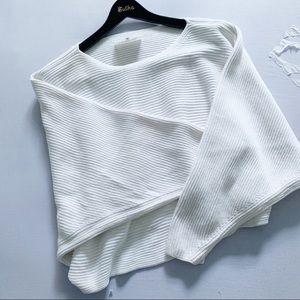 MAISON MARTIN MARGIELA White Slouchy Sweater 6